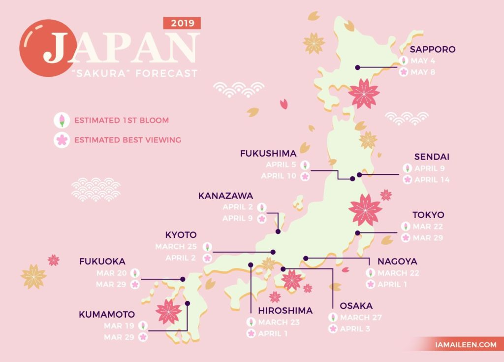 Top 20 Best Places To See Cherry Blossoms In Japan Tokyo Reviews